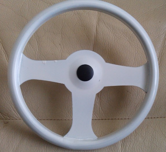 Tri-ang Metal Pedal Car Steering wheel